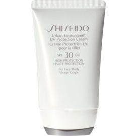 Shiseido Sun Care Urban Environment UV Protection Cream crema protectora para rostro y cuerpo SPF 30  50 ml