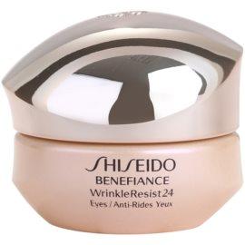 Shiseido Benefiance WrinkleResist24 intensive Augencreme gegen Falten  15 ml