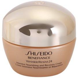 Shiseido Benefiance WrinkleResist24 crema nutritiva intensiva  antiarrugas  50 ml