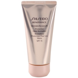 Shiseido Benefiance WrinkleResist24 regeneráló védőkrém kézre SPF 15  75 ml