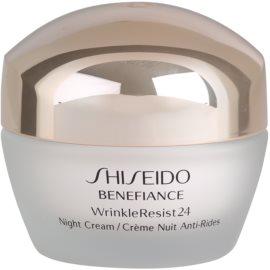 Shiseido Benefiance WrinkleResist24 éjszakai hidratáló krém a ráncok ellen  50 ml