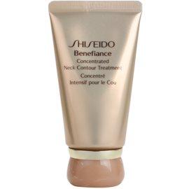 Shiseido Benefiance відновлюючий крем проти зморшок для шиї та декольте  50 мл