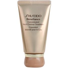 Shiseido Benefiance Anti-Falten und Regenerationscreme für Hals und Dekolleté  50 ml