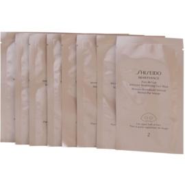 Shiseido Benefiance maseczka intensywnie rewitalizująca nadający młody wygląd  4 szt.