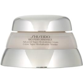 Shiseido Bio-Performance erneuernde und feuchtigkeitsspendende Creme  50 ml