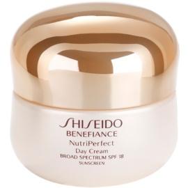 Shiseido Benefiance NutriPerfect verjüngende Tagescreme LSF 15  50 ml