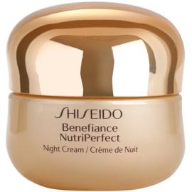 Shiseido Benefiance NutriPerfect creme de noite revitalizante antirrugas  50 ml