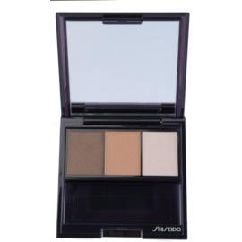 Shiseido Eyes Luminizing Satin trio oční stíny odstín BR 307 Strata 3 g
