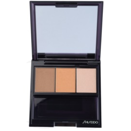 Shiseido Eyes Luminizing Satin sombras trio  tom BR 209 Voyage 3 g