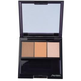 Shiseido Eyes Luminizing Satin trio oční stíny odstín BR 209 Voyage 3 g
