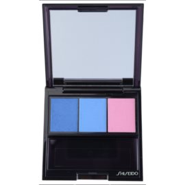 Shiseido Eyes Luminizing Satin sombras trio  tom BL 310 Punky Blues 3 g