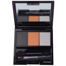 Shiseido Eyes Luminizing Satin Trio Eye Shadow Color OR 302 Fire 3 g