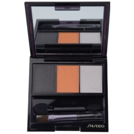 Shiseido Eyes Luminizing Satin trio oční stíny odstín OR 302 Fire 3 g