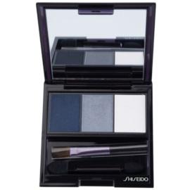 Shiseido Eyes Luminizing Satin trio oční stíny odstín GY 901 Snow Shadow 3 g