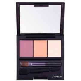 Shiseido Eyes Luminizing Satin trio oční stíny odstín RD 299 Beach Grass 3 g