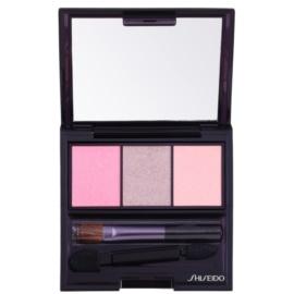 Shiseido Eyes Luminizing Satin Trio Eye Shadow Color RD 711 Pink Sands 3 g