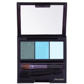 Shiseido Eyes Luminizing Satin Trio Eye Shadow Color GR 412 Lido 3 g