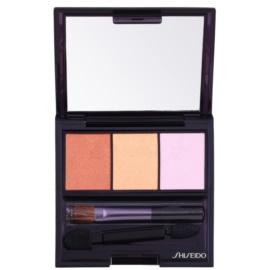 Shiseido Eyes Luminizing Satin trio oční stíny odstín BR 214 Into the Woods 3 g