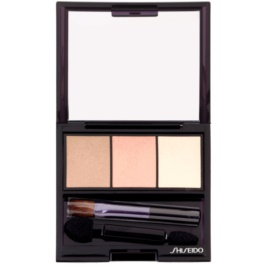 Shiseido Eyes Luminizing Satin sombras trio  tom BE 213 Nude 3 g