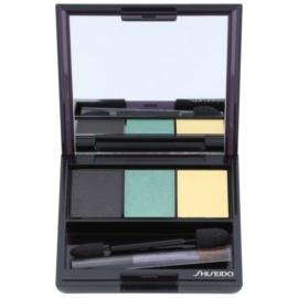 Shiseido Eyes Luminizing Satin trio oční stíny odstín GR 716 3 g