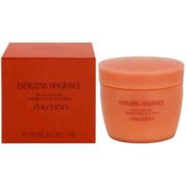 Shiseido Energizing Fragrance telový krém pre ženy 200 ml