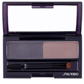 Shiseido Eyes Eyebrow Styling paleta pentru machiaj sprancene culoare GY 901 Deep Brown 4 g