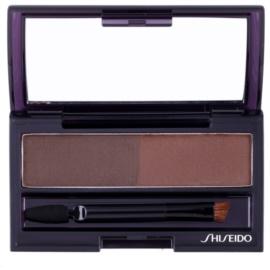 Shiseido Eyes Eyebrow Styling paleta pentru machiaj sprancene culoare BR 602 Medium Brown 4 g