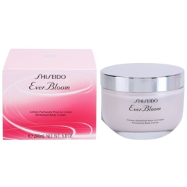 Shiseido Ever Bloom Körpercreme für Damen 200 ml