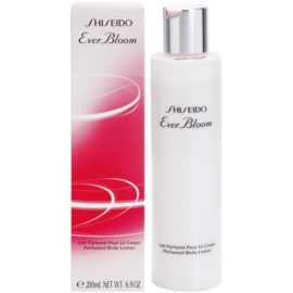 Shiseido Ever Bloom leche corporal para mujer 200 ml