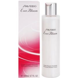 Shiseido Ever Bloom Dusch Creme für Damen 200 ml