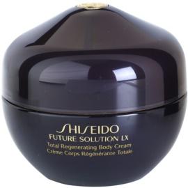 Shiseido Future Solution LX feszesítő testkrém a finom és sima bőrért  200 ml