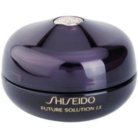 Shiseido Future Solution LX regenerační krém s vyhlazujícím účinkem na oční okolí a rty  15 ml