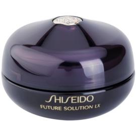 Shiseido Future Solution LX regenerierende Creme mit glättender Wirkung Für Lippen und Augenumgebung  15 ml