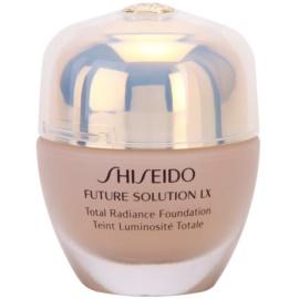 Shiseido Future Solution LX rozjasňujúci make-up SPF 15 I40 Natural Fair Ivory  30 ml