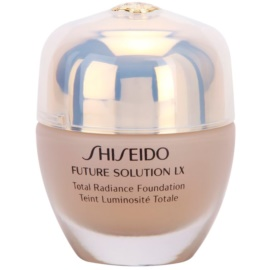 Shiseido Future Solution LX rozjasňujúci make-up SPF 15 I60 Natural Deep Ivory  30 ml