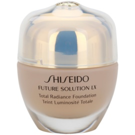 Shiseido Future Solution LX rozjasňující make-up SPF 15 O40 Natural Fair Ochre  30 ml