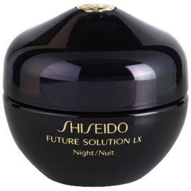Shiseido Future Solution LX Festigende regenerierende Nachtcreme  50 ml