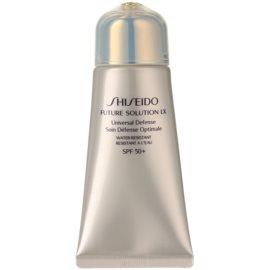 Shiseido Future Solution LX ochranný krém proti stárnutí pleti SPF 50+  50 ml