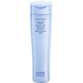 Shiseido Hair champô para cabelo seco  200 ml