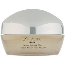 Shiseido Ibuki máscara de noite para embelezamento da pele  80 ml