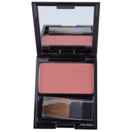 Shiseido Base Luminizing Satin rozjasňující tvářenka odstín RS 302 Tea Rose 6,5 g