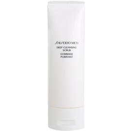 Shiseido Men Cleanse очищуючий пілінг для шкіри обличчя для чоловіків  125 мл