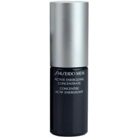 Shiseido Men Total Age-Defense concentrado rejuvenecedor para alisar la piel y minimizar los poros  50 ml