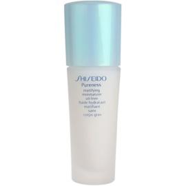 Shiseido Pureness leichtes, feuchtigkeitsspendendes Fluid für mattes Aussehen  50 ml