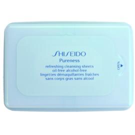 Shiseido Pureness кърпички за почистване на грим за дълбоко почистване  30 бр.