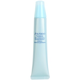 Shiseido Pureness kühlende Emulsion strafft die Haut und verfeinert Poren  30 ml