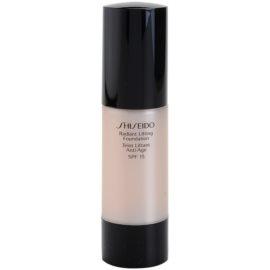 Shiseido Base Radiant Lifting rozjasňující liftingový make-up SPF15 odstín B40 Natural Fair Beige 30 ml
