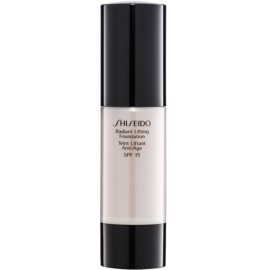 Shiseido Base Radiant Lifting Lifting-Make-up für strahlende Haut LSF 15 Farbton D10 Golden Brown 30 ml