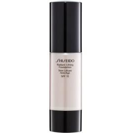 Shiseido Base Radiant Lifting Lifting-Make-up für strahlende Haut LSF 15 Farbton D10 Golden Brown 30 ml