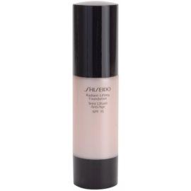 Shiseido Base Radiant Lifting rozjasňující liftingový make-up SPF15 odstín I20 Natural Light Ivory 30 ml